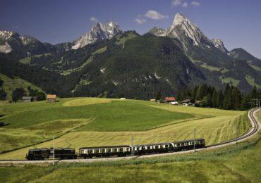 Du Hành Qua Đỉnh Alps Bằng Tàu Lửa