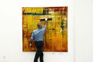 Still từ 'Gerhard Richter: 'Họa sĩ không cọ'